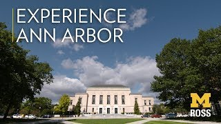 Experience Ann Arbor With the Ross School of Business