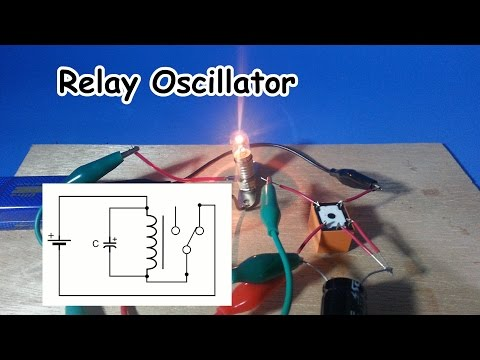 Simple Relay Oscillator