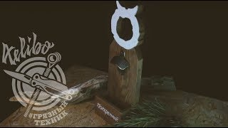 Открывашка из дерева для Поперечного (Грязный Техник)