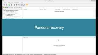 Recupera tus archivos eliminados con Pandora Recovery (facil de usar)