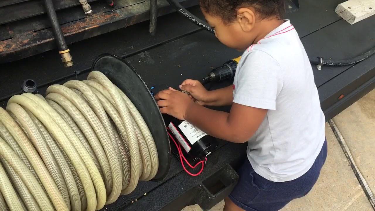 Installing new 12 volt pump(son) #8 - Aqua Force Pressure Wash