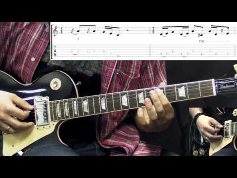 Led Zeppelin - The Ocean - Rhythm Guitar Rock Lesson (w/Tabs)