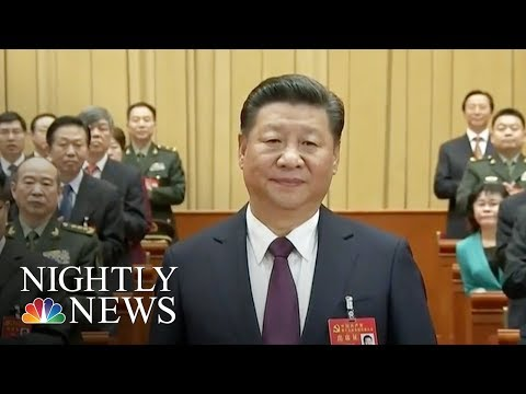 "Chinese President Xi Jinping Declares Era of ""National Rejuvenation"" | NBC Nightly News"