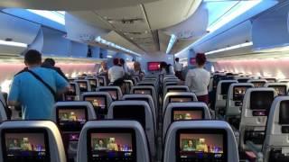 Review h?ng Economy Class trên Qatar Airways A350-900