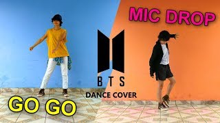 BTS (방탄소년단) - Go Go (고민보다 Go) + MIC Drop - Dance Cover by Frost
