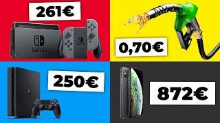 Das kosten iPhone XS, Playstation 4 und co. in anderen Ländern!