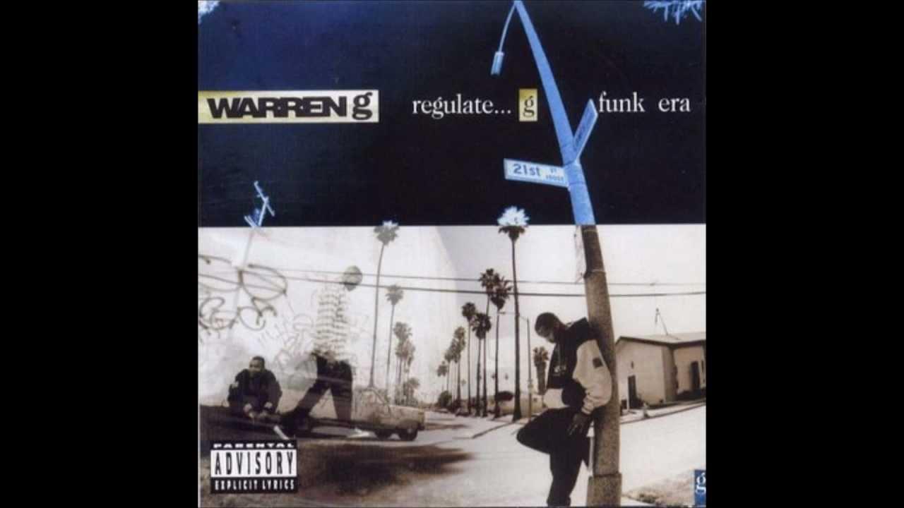 Regulate (instrumental version), a song by warren g & nate dogg on.