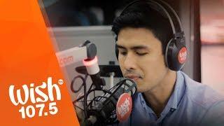 "Christian Bautista sings ""Kapit"" LIVE on Wish 107.5 Bus"