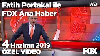 İmamoğlu kiraz ağacına çıktı... 4 Haziran 2019 Fatih Portakal ile FOX Ana Haber