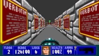 Wolfenstein 3D - Episode 5, Floor 2