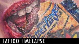 Tattoo Timelapse - Mike DeVries