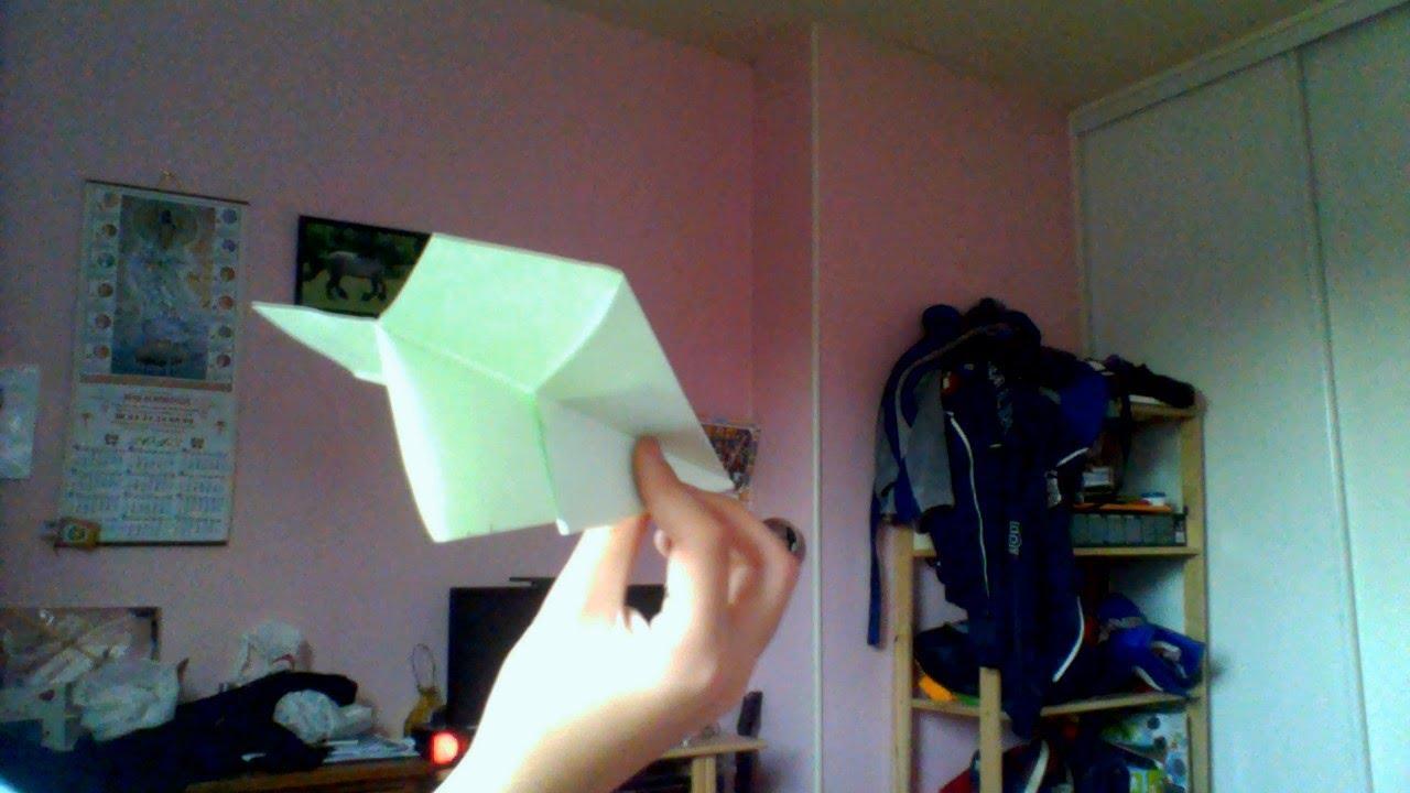 comment faire un avion en papier pro facile a realiser youtube. Black Bedroom Furniture Sets. Home Design Ideas