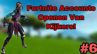 OMG STACKED ACCOUNT {Fortnite Accounts open viewers!} #6