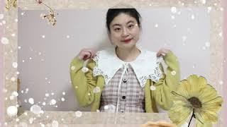 [데일리룩 리뷰] 간소하게 표현한 모리걸 스타일