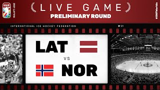 Latvia - Norway | Live | Group B | 2021 IIHF Ice Hockey World Championship