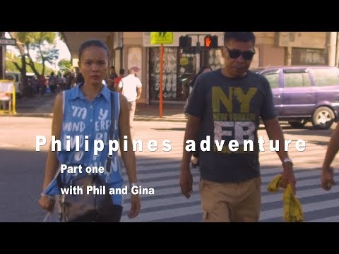 Philippines adventure 2017 part 1 with Phil and Gina. Manila