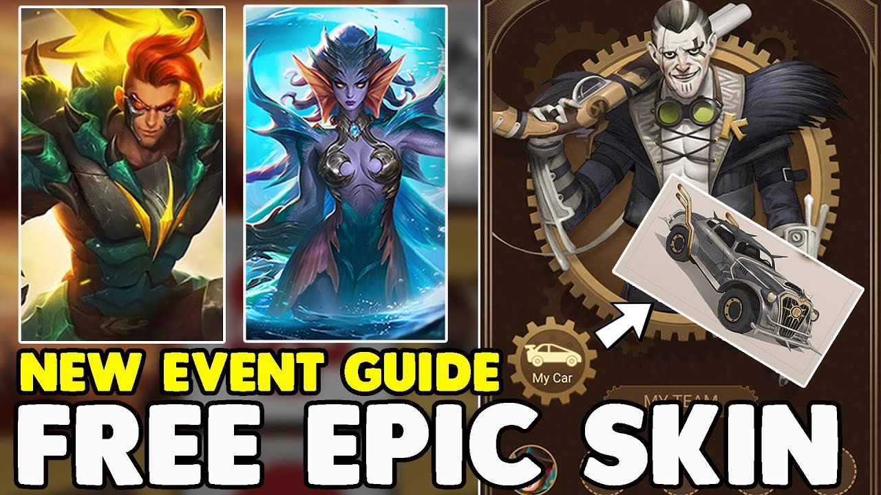 Win Free Epic Skins (Event Guide) ~ Western Adventure browsing event ~ Mobile legends bang bang
