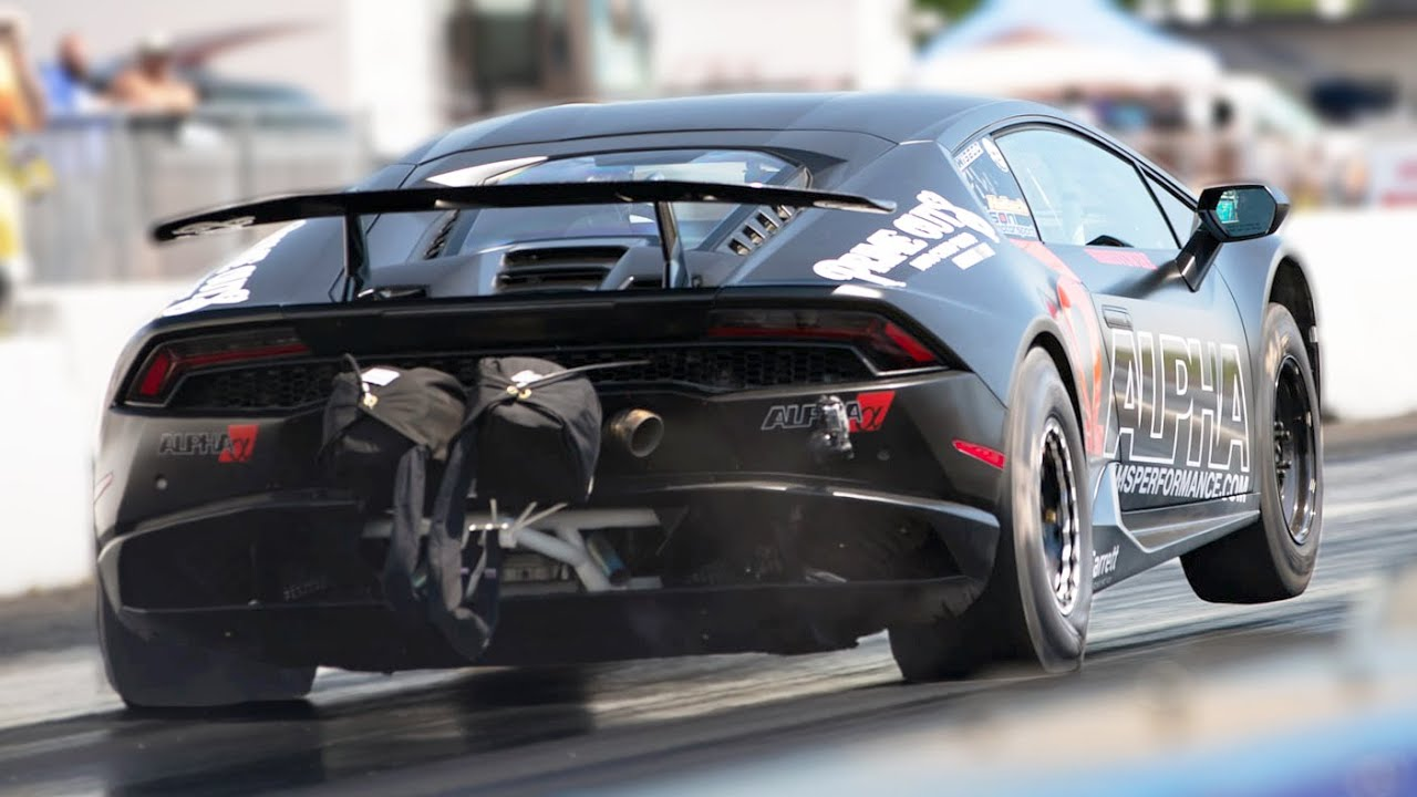FASTEST Lambo in the world goes DEEPER into the 7's!! (2000+hp AMS Huracan)