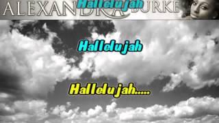 HALLELUJAH  Karaoke   Instrumental] (Low)