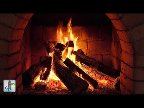 12 HOURS Of Relaxing Fireplace Sounds - Burning Fireplace & Crackling Fire Sounds (NO MUSIC) #3