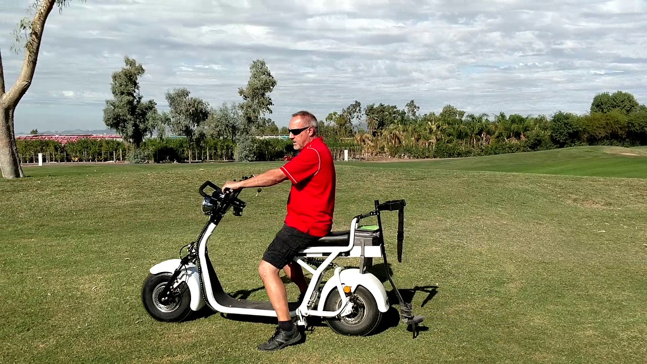 Fat Tire Golf Scooter Training and Safety - YouTube