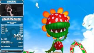 Super Mario Sunshine 120 Shines Speedrun in 3:46:08