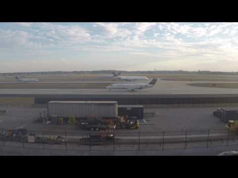 GOPRO Plane Spotting Hartsfield–Jackson Atlanta International Airport with ATC!