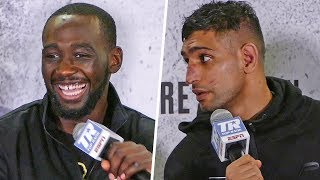 Terence Crawford: TELL THE TRUTH! YOU QUIT !! Blasts Amir Khan at Post Fight Press Conference
