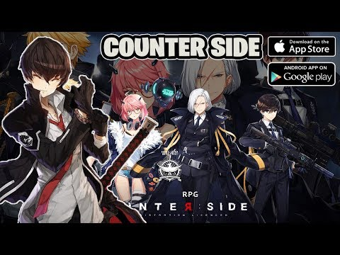 Best Game!! Animasinya Mulus Support 60fps - COUNTER SIDE Gameplay Android ( NEXON )