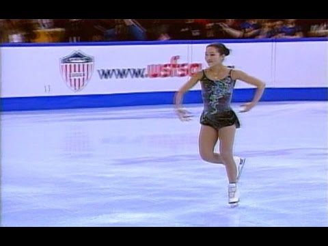 Michelle Kwan - 2001 U.S. Figure Skating Championships - Short Program