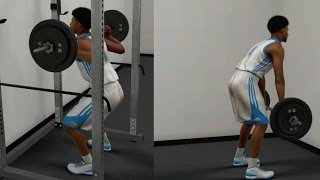 NBA 2K17 MyCAREER - Weight Lifts & Squats!! Off Days Practice Drills + Practice Cutscene!