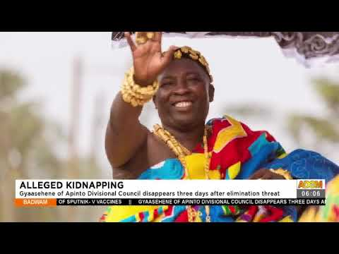Gyaasehene of Apinto Divisonal Council disappears three  days elimination threat- Adom TV (16-7-21)