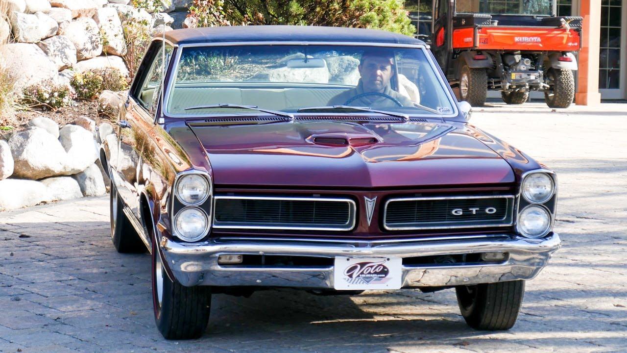 V18196 1965 Pontiac Gto Youtube