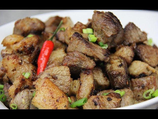 The Ultimate Garlic Pork #TastyTuesdays | CaribbeanPot.com