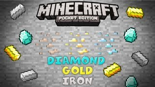 [0.7.5] Minecraft PE - DIAMOND/IRON/GOLD/CLAY SEED!