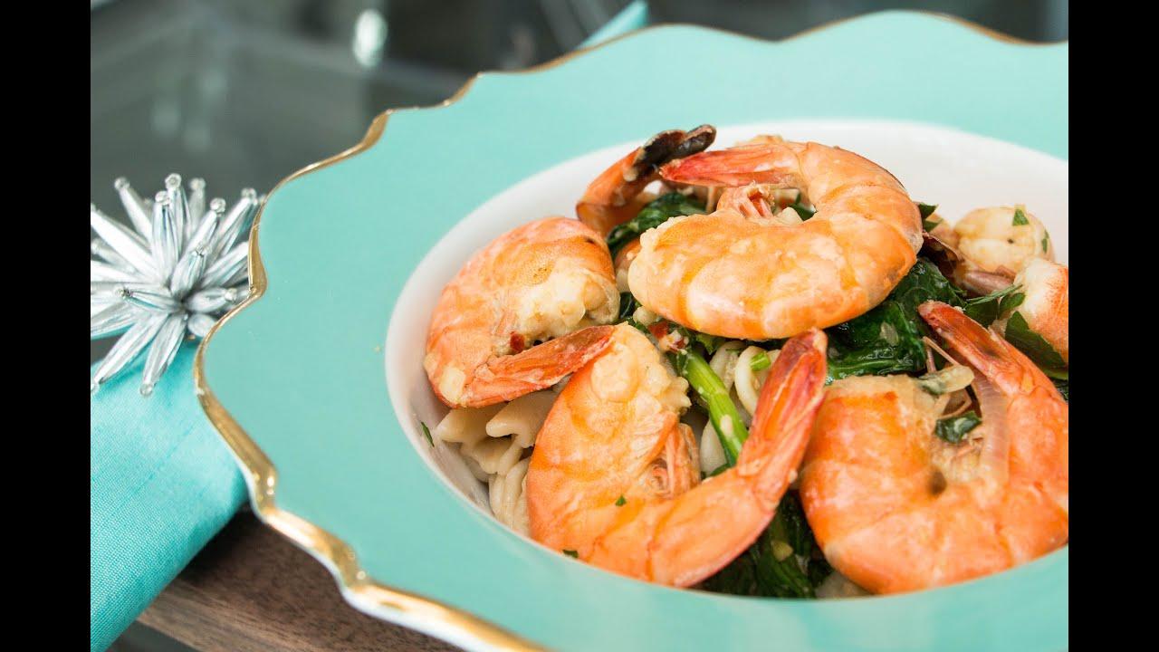 Shrimp Scampi Diabetes Friendly Recipe Blue Meals