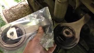 Fiat Doblo 1.3 multijet замена нижняя подушка двигателя