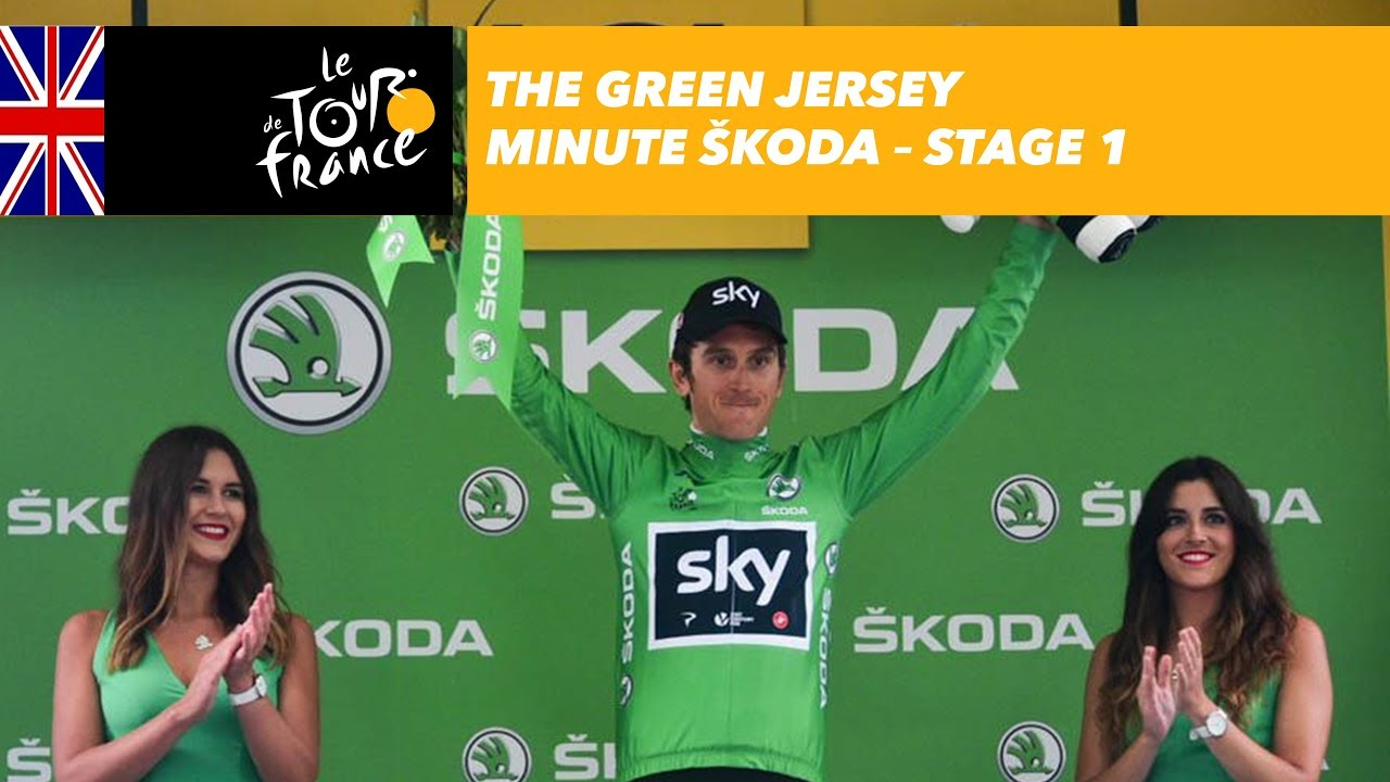 The ŠKODA green jersey minute - Stage 1 - Tour de France 2017 - YouTube e2a14d089