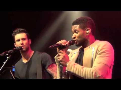 VOICE Judges Usher, Adam Levine and Blake Shelton Rock The House of Blues