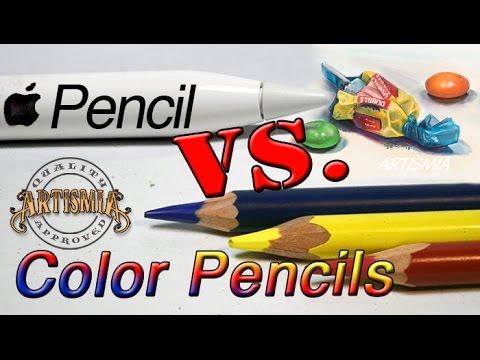 Apple Pencil VS Color Pencils ~ Artismia Drawing (iPad Pro & Paper by 53)