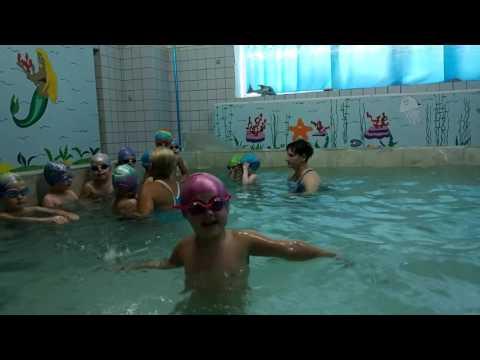 Занятие в бассейне дети 4-6 лет