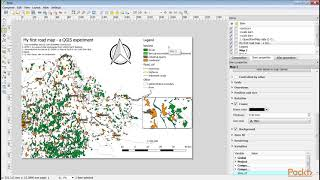 Practical GIS - Fundamentals of Open Source GIS : Creating Printable Maps | packtpub.com
