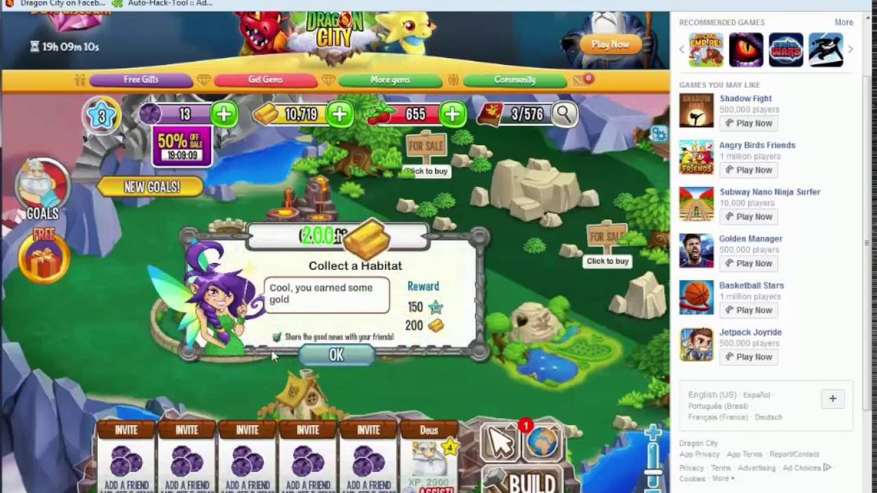 Hacker dragon city 100 gempor dia food gold exp dragon quest heroes 2 gold weapon dunisia