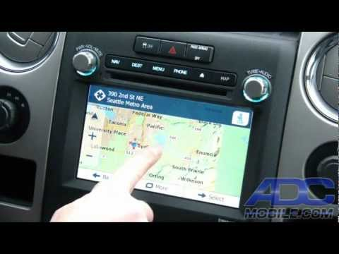 Advent OE Navigation For Ford F-150: Destination Entry