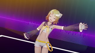 【MMD】Catch The Wave/kz/livetune & Gingerio feat.Kagamine Rin【YYB Kagamine Rin】【2K60fps】