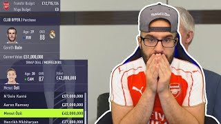 OMG SIGNING BALE TO ARSENAL! FIFA 18 Career Mode ARSENAL #12
