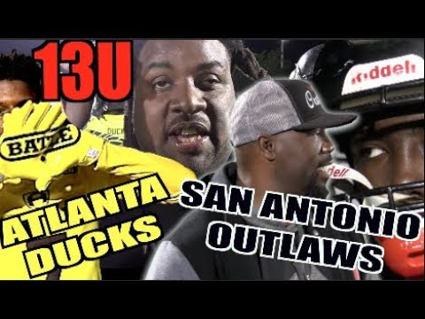 Atlanta Ducks v San Antonio Outlaws 13U | Battle National Championships 🔥 Ultimate Showdown