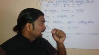 Learn AZERBAIJANI through English.