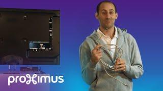 Connecter votre décodeur au modem via un câble