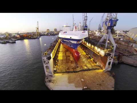 MV Ensemble at Damen Ship Repair Rotterdam